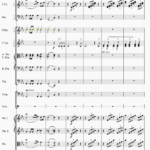 無料楽譜作成ソフト「MuseScore」の使い方 [オーケストラスコア編]